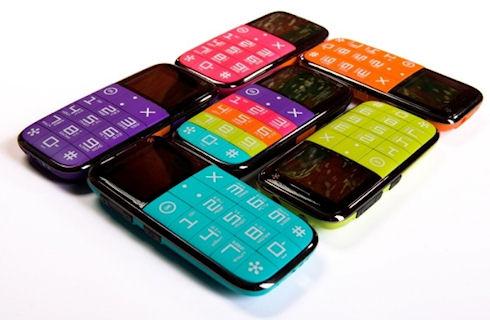 Телефоны Just5 CP10s – ярко, просто, удобно