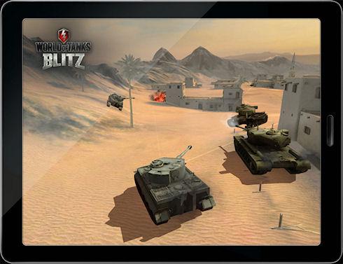World of Tanks Blitz – мобильная версия World of Tanks