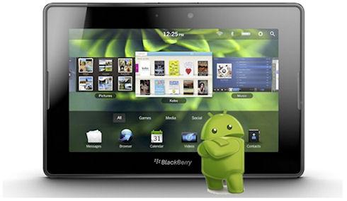 BlackBerry приветствует появление Android-программ в своем магазине