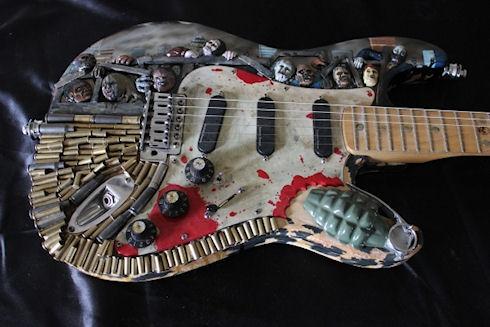 Гитара для любителей зомби