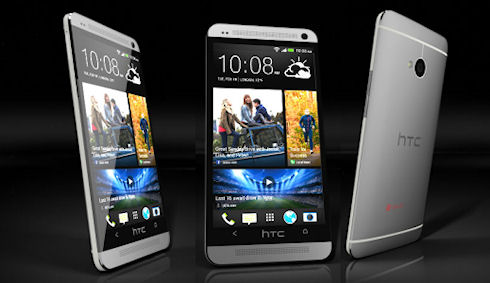 В Великобритании начались продажи смартфона HTC One