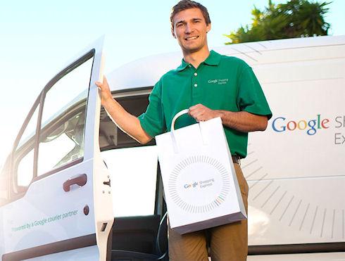 Google открывает службу доставки своих товаров