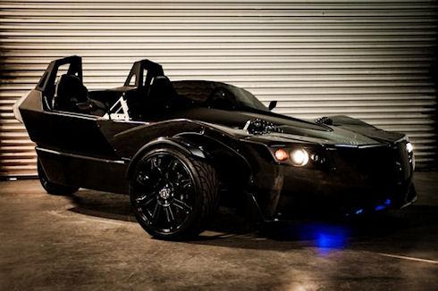 Torq Roadster – современный автомобиль Бэтмена