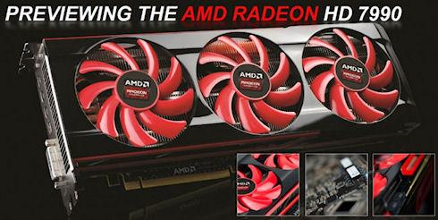 AMD рассказала о двухпроцессорном ускорителе Radeon HD 7990