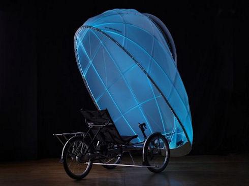 FireFly – велосипед с защитным куполом и подсветкой
