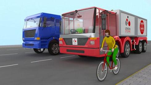Грузовик – друг велосипедистов