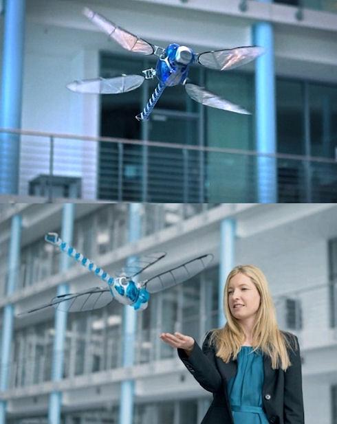 Робот-стрекоза BionicOpter