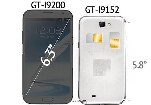 Samsung Galaxy Mega – большие дешевые смартфоны
