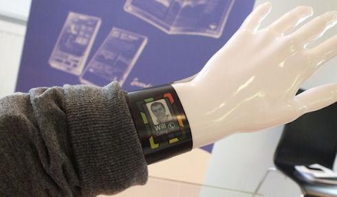 Plastic Logic работает над созданием «умных» часов
