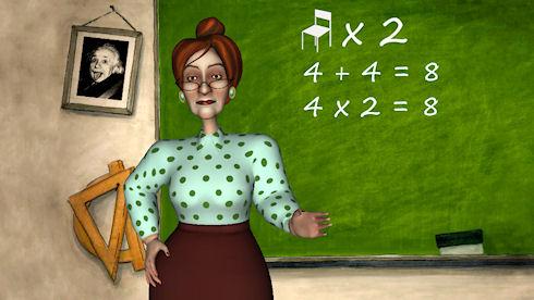 «Училка» для iPhone научит ваших детей математике