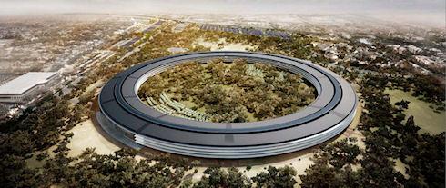 Новый офисный комплекс Apple будет стоить 5 млрд долларов