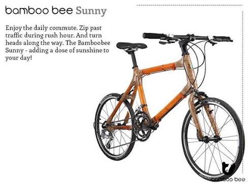 Bamboobee – бамбуковый велосипед