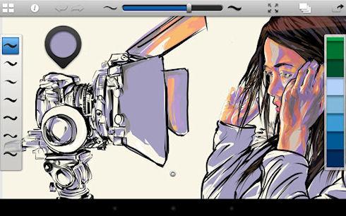 SketchBook Ink – профессиональный графический редактор для любителей