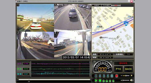 Vision STR-100 – видеорегистратор с обзором 360 градусов