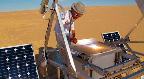 Solar Sinter – 3D-принтер на солнечной энергии