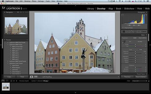 Photoshop Lightroom 5 доступен для скачивания
