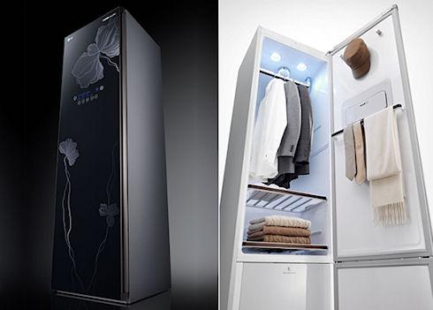 LG разрабатывает безводную стиральную машину