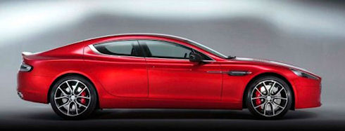 Aston Martin выпустит юбилейный гибрид Rapide S