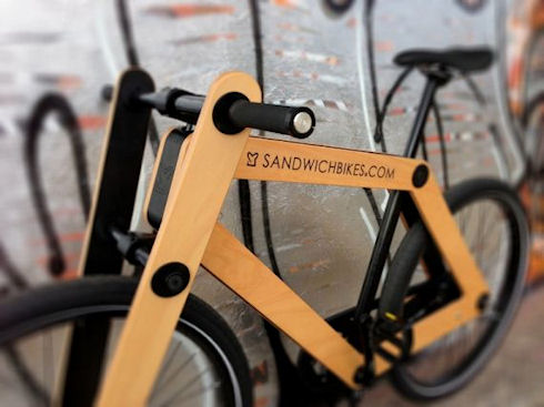 Велосипед-конструктор Sandwichbike