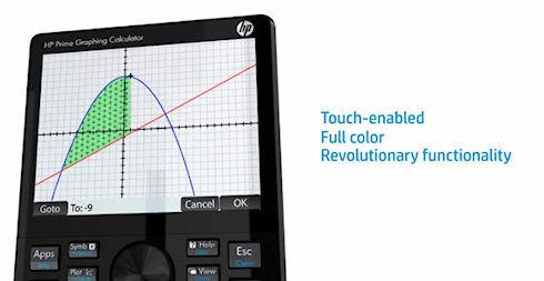 HP Prime – калькулятор с сенсорным дисплеем