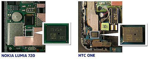 HTC использует микрофоны Nokia в смартфоне HTC One