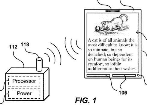 Amazon патентует беспроводной дисплей