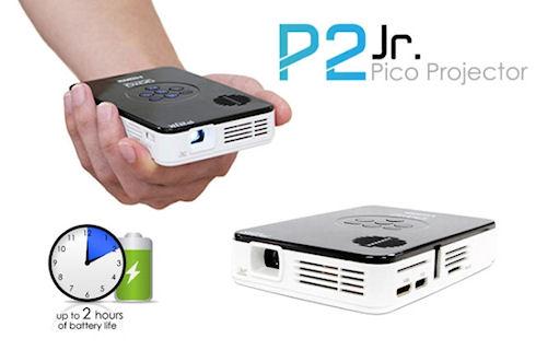 Полноформатный компакт AAXA P2 Jr Pico Projector
