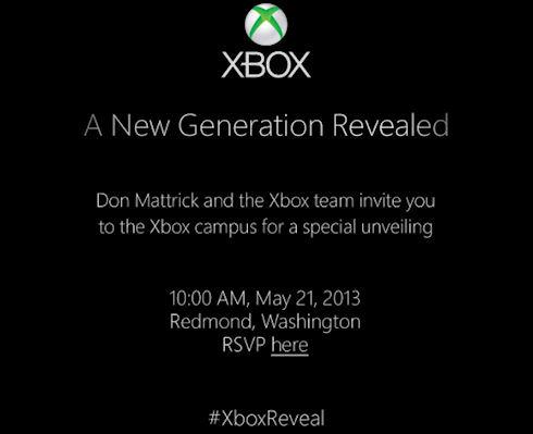 21 мая Micorosft проведет презентацию новой Xbox