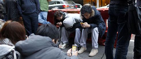 Мобильные телефоны влияют на поведение людей