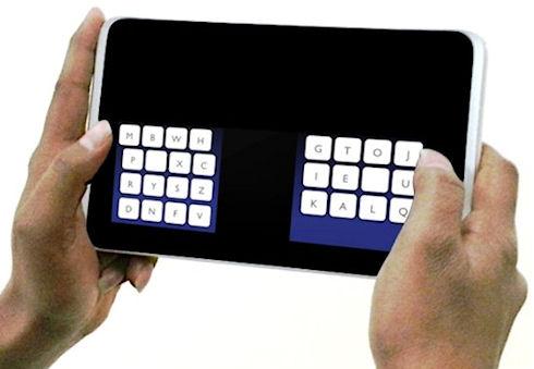 KALQ-клавиатура – скоростной набор на сенсорных устройствах