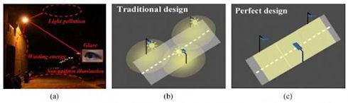Ученые предложили новую конструкцию уличных светильников