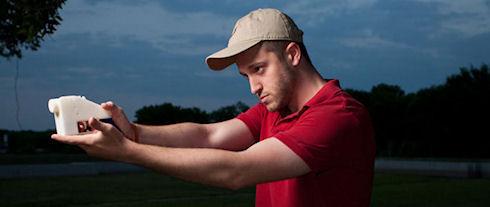 Протестирован первый пистолет, напечатанный на 3D-принтере