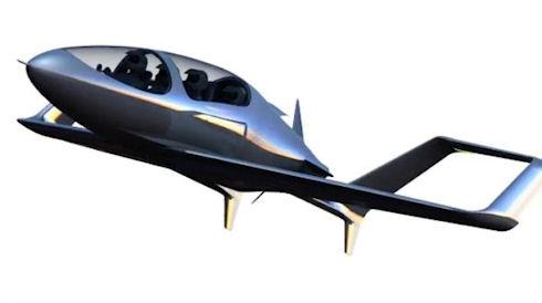 «Synergy» летающий автомобиль от энтузиаста