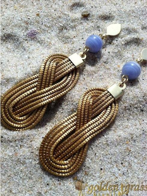 Бразильские украшения из «золотой травы»