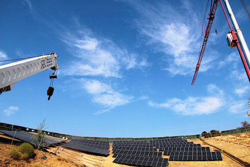 Солнечная электростанция в масштабах колледжа