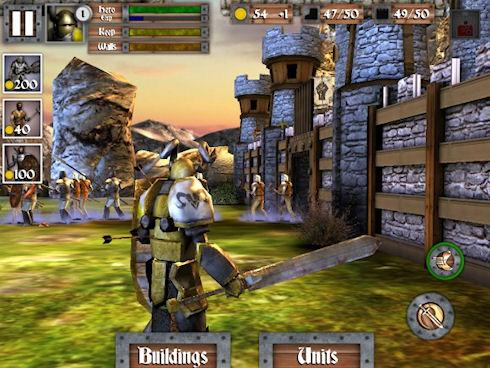 Вышла в свет Heroes and Castles 3.0 от Foursaken Media