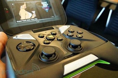 Дорогая и эффектная консоль Nvidia Shield