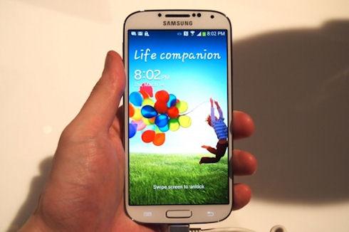 Продажи Samsung Galaxy S4 составили 1 миллион устройств в день