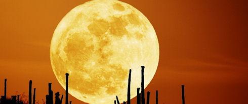 NASA показала запись столкновения метеорита с Луной