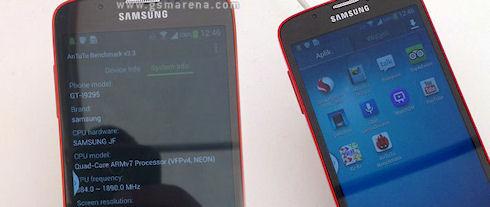 Первые фотографии Samsung Galaxy S IV Active