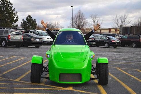 Elio – экономичный бензиновый автомобиль