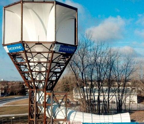 Ветровые турбины Invelox придут на смену ветрякам