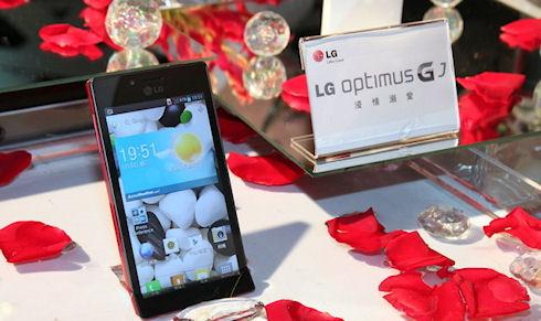 LG Optimus GJ не боится пыли и воды