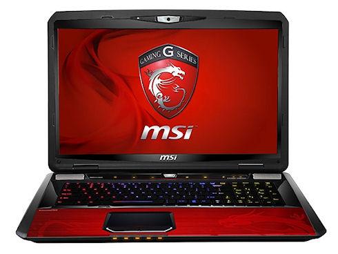MSI покажет новые игровые ноутбуки на Computex 2013