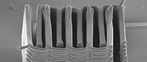 Ученые получили литиевый аккумулятор с помощью 3D-принтера