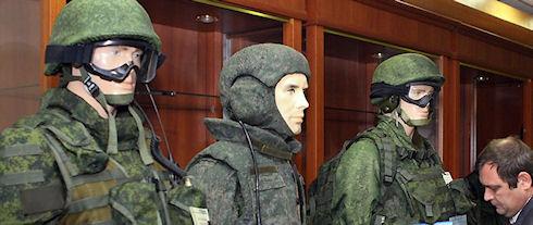 Российская армия испытывает комплект экипировки «Ратник»