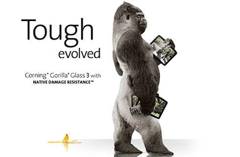 Gorilla Glass 3 прочнее сапфирового стекла