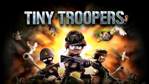 Tiny Troopers – мультяшки спешат на войну