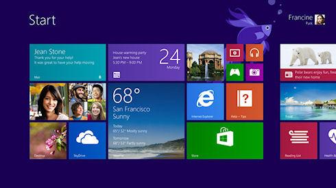 Первые скриншоты Windows 8.1