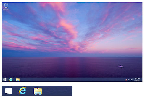 Кнопка «Пуск» появится в Windows 8.1